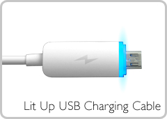 Lit Up USB Charging Cable