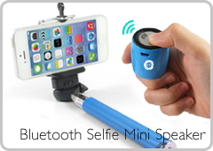 Bluetooth Selfie Mini Speaker