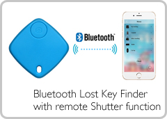 Bluetooth Lost Key Finder with remote Shutter function