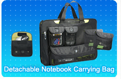 Detachable Notebook Carrying Bag